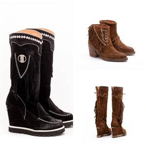 En Alaia pensamos en todos los detalles. 🌸 No olvides el calzado y complementos con los que crearás looks ideales. ¿Qué os parecen estas botas?👢🥾 Nueva colección bya disponible.  #alaiamoda #botas #botasboho #modamujer #alaiastyle #calzadoboho #modamujer #modaonline
