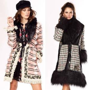 ¡Nos encanta este estilo! 😍 ¿Con cuál os quedáis? 😊  #alaiajorgejuan #abrigo #chaqueta #BohoStyle #modaotoño #chic #bohochic #newcollection #newarrivals #chaquetasonline #abrigoboho